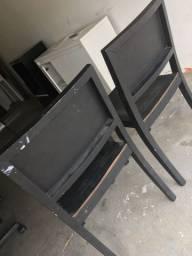 Vendo duas cadeiras usadas R$150 as duas