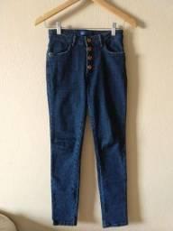 Título do anúncio: Calça jeans cintura alta 34/36