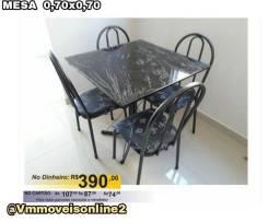 Mesa 4 cadeiras Entrega Goiânia e Aparecida