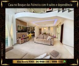 Oportunidade, Casa no Bosque das Palmeira com 4 suítes e dependência, área gourmet, Etc
