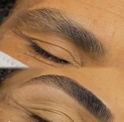 Micropigmentação , ou desagne com rena