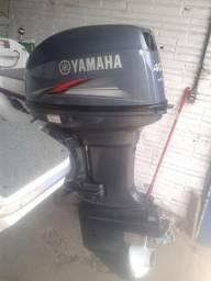 Motor De Popa Yamaha 40 Hp Ano 2014, Comando A Distancia