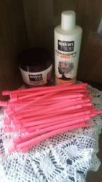 Vendo kit de permanente afro