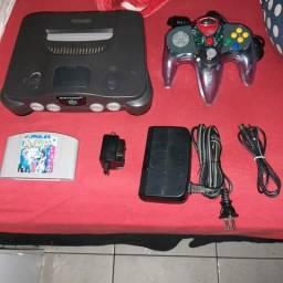 Nintendo 64 com Dr mario