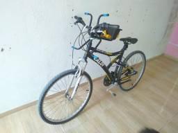 Bicicleta em ótimo estado de conservação, S/ a cadeirinha