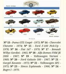 Miniaturas de Carros 1/43