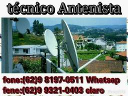 Antenas digital e satélites (técnico)