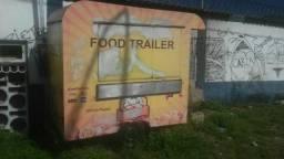 Aluga-se food truck traile