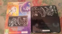 Nintendo New 3ds XL edição sun e moon
