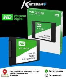 Hd Western Digital Ssd 120gb Sata3 Wd Green 540-430mb/s Dsk (parcelo em 12x)