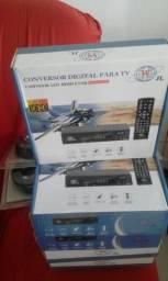 Conversor digital novos lacrado na caixa com garantia contato 988787572