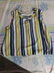 Blusa comprada na Zig calçados veste M e G