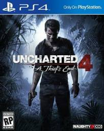 Uncharted 4 - PS4 [Vendo ou troco]