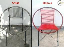 Revitalização de cadeiras