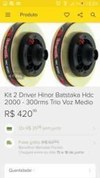 2 Driver hdc 2000, 150rms cada uma