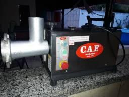Moedor marca CAF Modelo 22 inox com sistema de segurança NR12 zerado