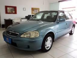 Honda Civic 1.6 EX Gasolina 4P Manual Azul