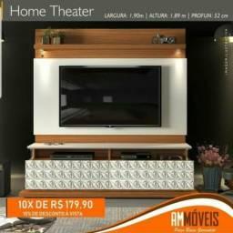 """Home Com LED Para TV 70"""" Com Entrega e Montagem Grátis"""