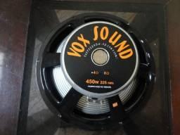 Alto falante Vox sound 12 polegadas para contrabaixo cone aluminio 8ohms comprar usado  Santos