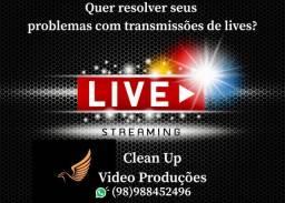 Vídeo Produção e Transmissões - ?Lives?