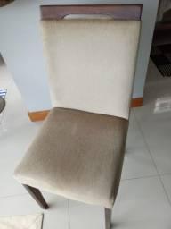 Conjunto Cadeiras Estofadas
