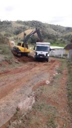 Locação e transporte de máquinas equipamentos e terraplanagem.