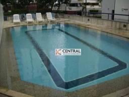 Apartamento com 4 dormitórios para alugar, 174 m² por R$ 3.400,00/mês - Candeal - Salvador