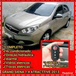GRAND SIENA 1.4 ATTRACTIVE 2013 (Carro de GARAGEM) - 2013