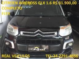 Citroen Aircross GLX 1.6, 2011, Muito novo, aceito troca e financio - 2011