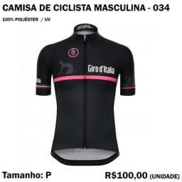Camisa de Ciclista 100% Poliéster - Modelo 34