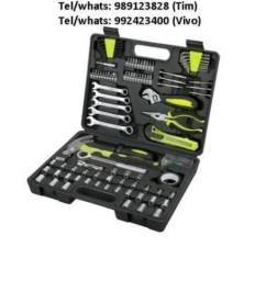 Kit de ferramentas com 159 peças - Novo