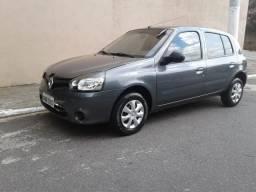 14KM/Litro na Gasolina*Ideal pra Uber*Renault Clio 1.0 Flex Expression Completo - 2014
