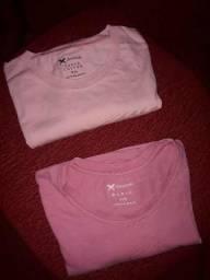 Título do anúncio: Camiseta Hering Original feminina P  ou shorts 46 Baixei o valor!!!