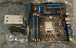 Kit Placa Mãe + Processador + cooler master