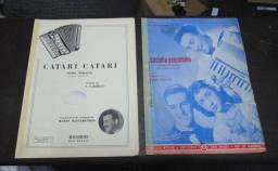 Coleção de partituras antigas para Acordeom lote 3.- 315 -