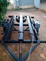 Reboque,xr 400, equipamento completo para trilha