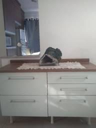 Buffet balcão de cozinha com gavetões