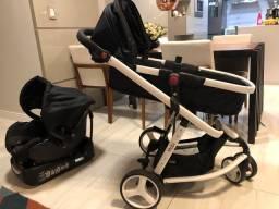 Carrinho de Bebê Travel System com Bebê Conforto Safety 1st Mobi