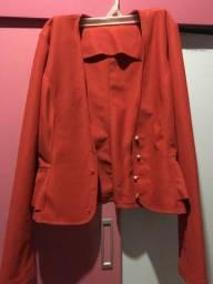 blazer / casaco vermelho