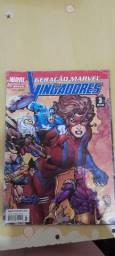 Revista em quadrinhos Geração Marvel Vingadores n* 03