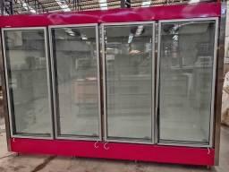 Título do anúncio:  Vitrine expositora auto serviço resfriados / congelados 4 portas
