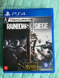 jogo PS4 rainbow six siege