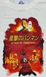 Camiseta Attack on Punch Man - XG