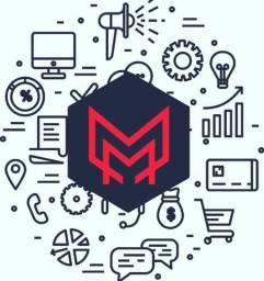 Criação de logo e material Visual