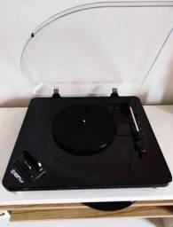 Toca Discos Vinil Íon LP + Caixas de Som Subwoofer C3 Tech