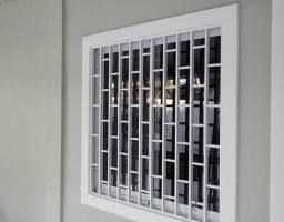 Grades/portas/janelas galvanizadas novas