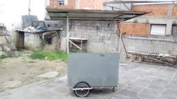 Vendo carrinho de churrasco utilitário