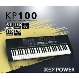 Teclado Key Power 61 Teclas NOVO com Nota fiscal e Garantia