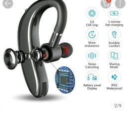 Título do anúncio: Fone De Ouvido Sem Fio Bluetooth 5.0 Esportivo À Prova De Suor