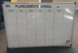 Quadro novo planejamento mensal